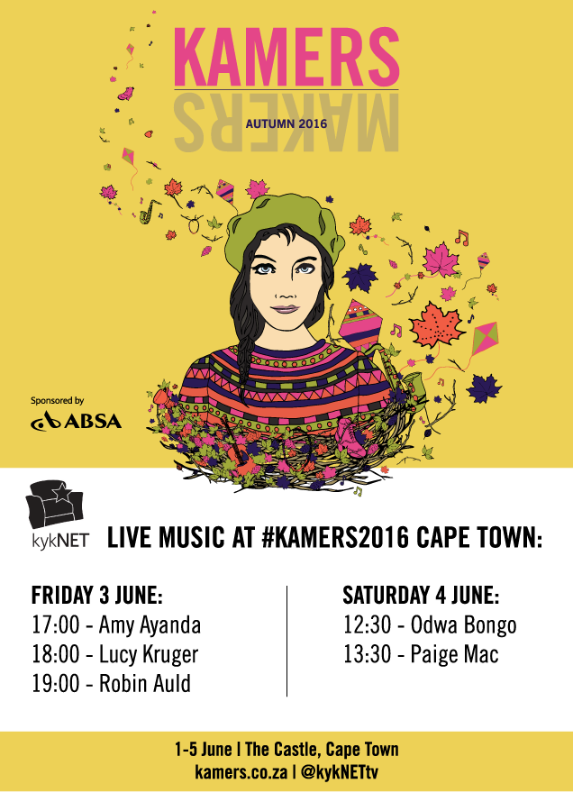 KAMERS 2016 Cape Town kykNET live Music