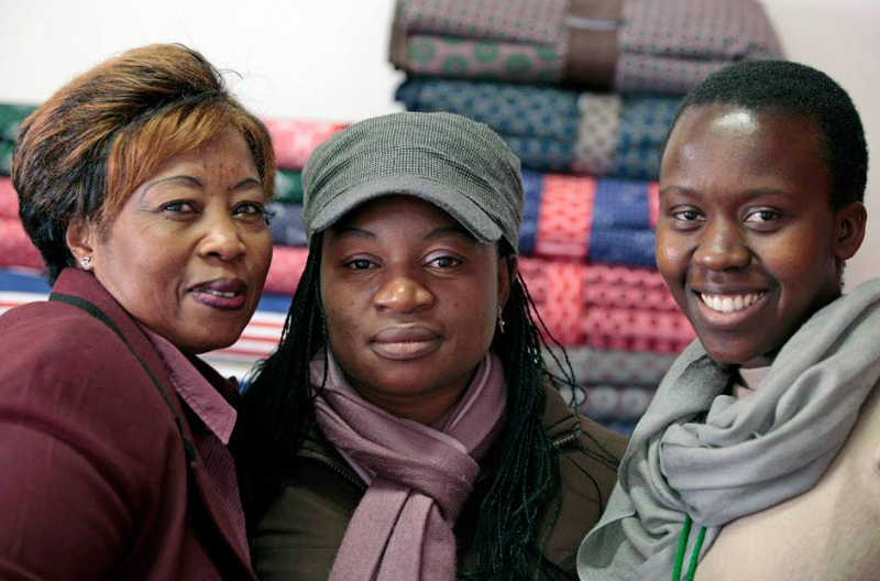Stitch Social Enterprises seamstresses.