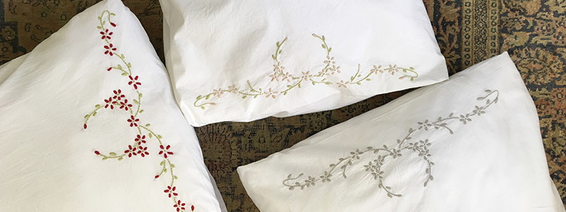 Madonna & Child Embroidered Russian pillowcase - KAMERS Makers blog - shop.kamersvol.com